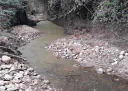 Après travaux restauration hydro morphologique de La Gupie