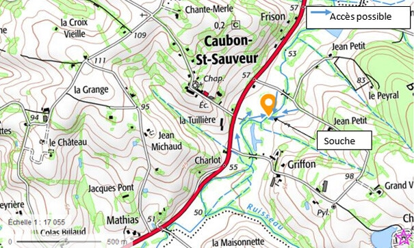 Le Caubon à Caubon-Saint-Sauveur